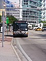Bus S at Biscayne Blv, Miami.jpg