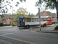 Bus turning out of Cromwell Road into Airlie Road - geograph.org.uk - 1548579.jpg