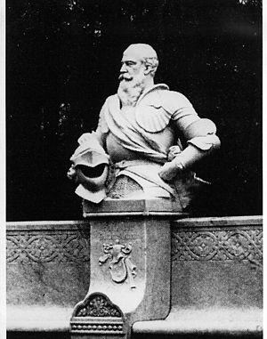 Albert Manthe - Busso von Alvensleben, from the Siegesallee.