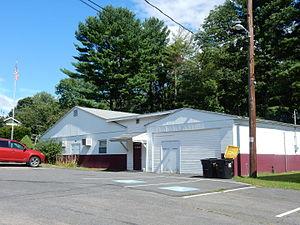 Butler Township, Schuylkill County, Pennsylvania - Township Hall.