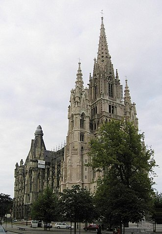 Church of Our Lady of Laeken - Image: Bxl, Eglise Notre Dame de Laeken 2