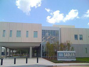 Brazosport College - Image: Byron & Sandra Sadler Health Professions Science Complex
