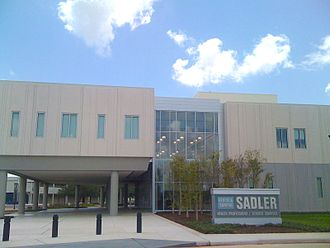 Brazosport College - Image: Byron & Sandra Sadler Health Professions Science Complex