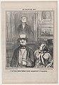 C'est tout d'même flatteur d'avoir son portrait à l'exposition, from Le Salon de 1857, published in Le Charivari, August 31, 1857 MET DP876662.jpg