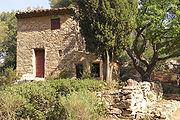 Cézanne's house in the Bibémus quarries, Aix-en-Provence, France.