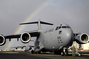 535th Airlift Squadron - 535th Airlift Squadron C-17 Globemaster III at Hickam AFB