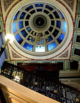 Halifax Town Hall - Entrance stairwell