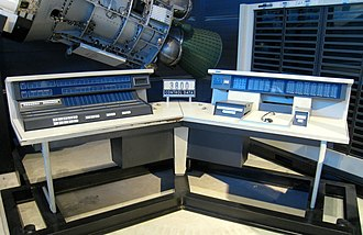 CDC 3000 series - CDC 3800 console at the Udvar-Hazy Center of the Smithsonian National Air and Space Museum