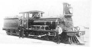 CGR 3rd Class 4-4-0 1889 - Image: CGR 3rd Class 4 4 0 1889 no. 108