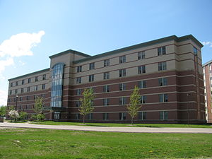 Central Michigan University - Kulhavi Hall at the Towers
