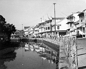 Kali Besar - Kali Besar picture taken in 1953