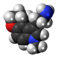 CP-132,484 molecule spacefill.png