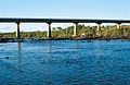 CSIRO ScienceImage 4047 Late afternoon view of the road bridge across the Burdekin River near Charters Towers QLD.jpg