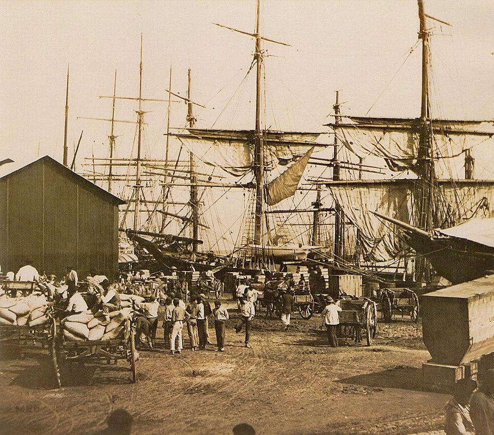 Cafe porto Santos 1880