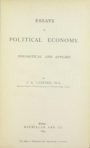 an essay on politics