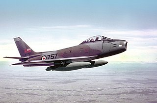 Canadair Sabre series of fighter aircraft