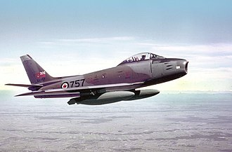 Canadair Sabre - A Canadair Sabre of the RCAF