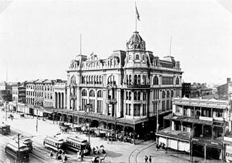 Maison Blanche - Old Maison Blanche building in 1898