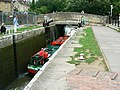 Canal boat on the way down the Kennet and Avon canal (10) - geograph.org.uk - 1443410.jpg