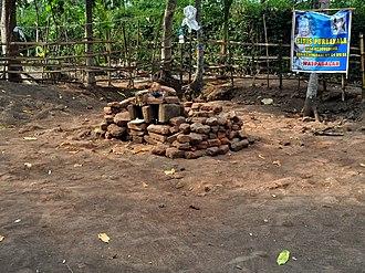Lumajang Regency - Remains of Candi Kunir, discovered in 2013