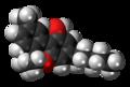 Cannabinol molecule spacefill.png