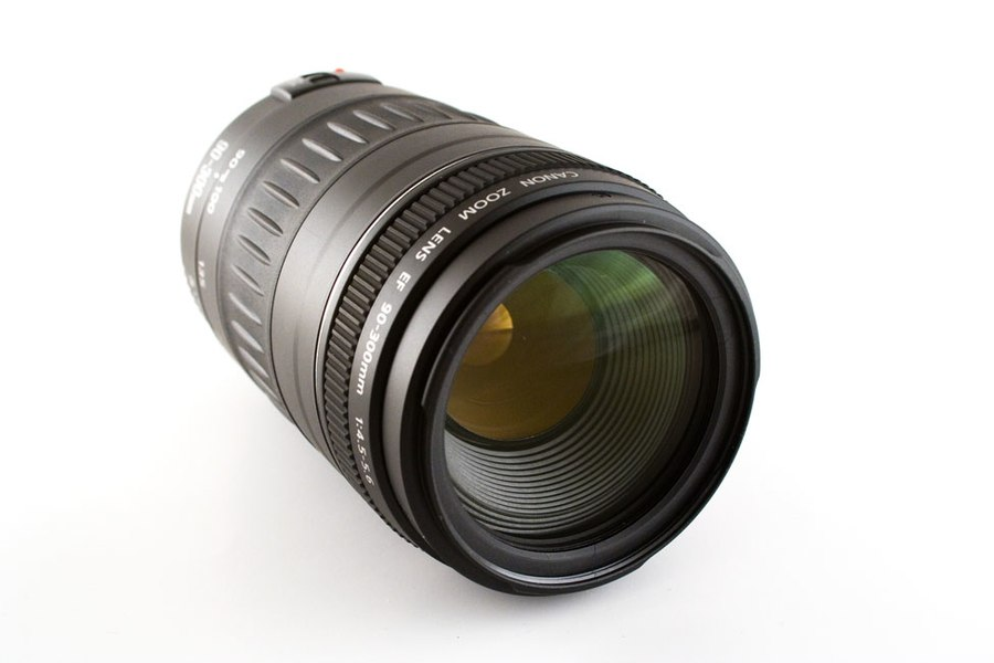 Canon 90-300mm camera lens