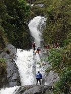 Canyoning en Baños de Agua Santa