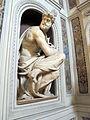 Cappella della compagnia di s. luca, int, statue, v. danti, san luca 03.JPG