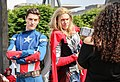 Captain America and Thor Cosplay - MCM Comic Con 2016 (27398643185).jpg