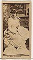 Card Number 167, Mme. Modjeska, from the Actors and Actresses series (N145-2) issued by Duke Sons & Co. to promote Cross Cut Cigarettes MET DP866611.jpg