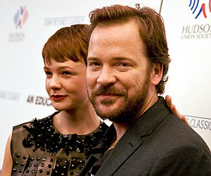 An Education - Carey Mulligan and Peter Sarsgaard at the New York premiere in October 2009