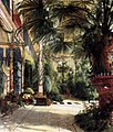 Carl Blechen - Friedrich Wilhelm III's Palm Court - WGA02248.jpg
