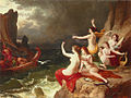 Carl von Blaas - Ulyssus and Sirens (1882).jpg
