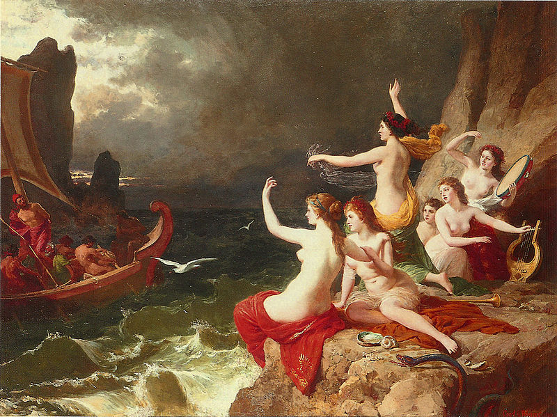Carl von Blaas, Ulysses and the Sirens