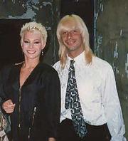Carmen Russo con Enzo Paolo Turchi nel 1988