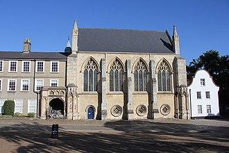 Norwich School (independent school) - The school chapel today