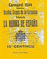 Carnaval de Málaga comparsa La honra de España 1924.jpg