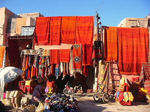 Carpets in Marrakech