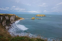 Carrick-a-Rede Rope Bridge, Jan 2013.JPG