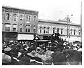 "Carrie Nation in Ann Arbor, May 3, 1902 --- the mob cheers for a State Street hatchet job but hey, who ""axed"" that woman to come here, anyway? (1811490489).jpg"