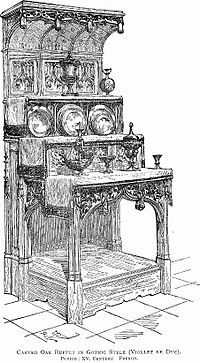Carved Oak Buffet (French Gothic).jpg