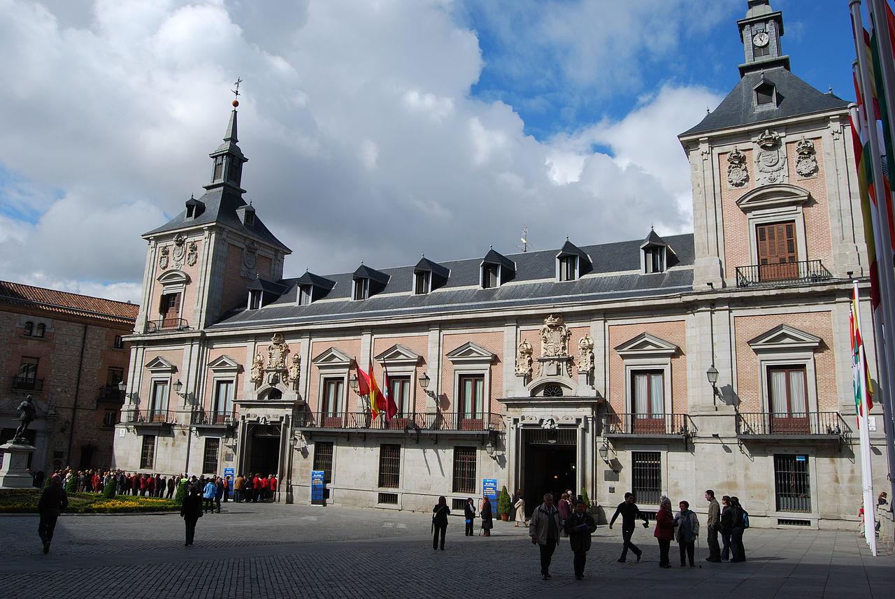 File casa de la villa antiguo ayuntamiento de madrid jpg wikimedia commons - Casa de madrid ...