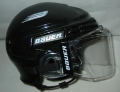1e3c4ecedef Hockey helmet · Bauer ice hockey helmet with shield ...