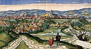 Upper Hungary - Image: Cassovia 1617