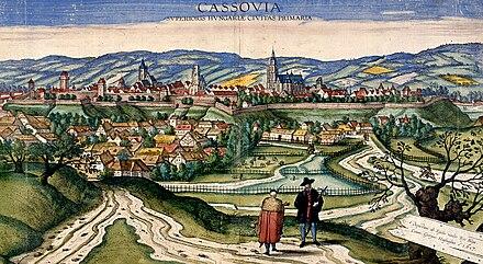 93460c4e01ca6 Cassovia – Hlavné mesto Horného Uhorska (1617)