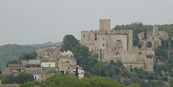 Castle of Castellet and the Hermitage of St. Peter.