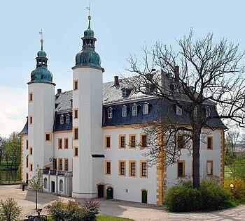 Parte principal del castillo.