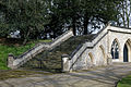 Catacomb columbarium steps - City of London Cemetery, Newham, London England - cool render.jpg