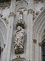 Cathédrale d'Amiens, contrefort nord, saint Firmin 1.jpg