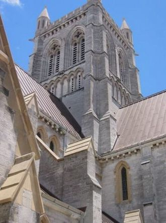 Hamilton, Bermuda - The Cathedral of the Most Holy Trinity in Hamilton.